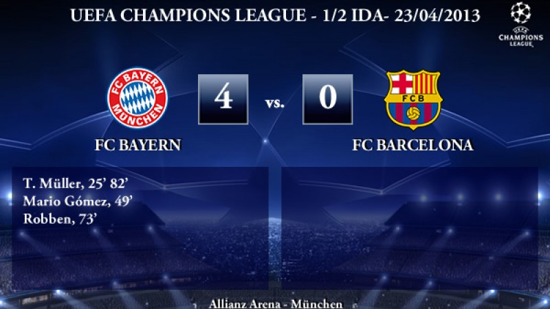 Bayern 4 0 Barcelona 12 13 Tokyvideo